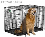 כלוב רשת לאילוף כלב(107)גדול